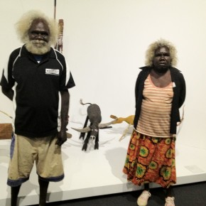 Visitors from Maningrida