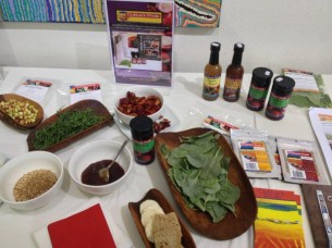 Outback Pride native foods ready for taste testing