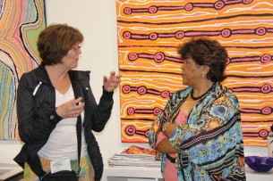 Margaret Campbell from the Rocks Dreaming Aboriginal Heritage Tour