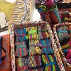 Hand Printed Fabrics from Arnhemland