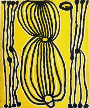 Judy Watson Napangardi Snake Vine Fine Art Print