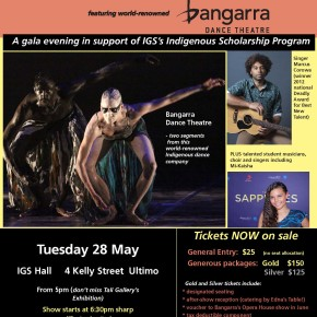 Bangarra/ TaliG Fundraiser for International Grammar School