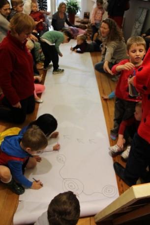 Preschool Visit to Tali Gallery