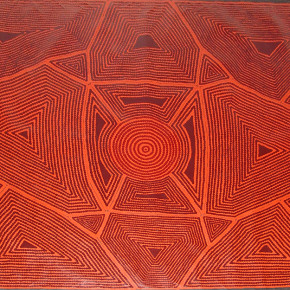 Red Diamonds - Contemporary Aboriginal Art in Red