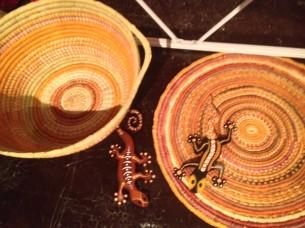 Woven Baskets and Mats