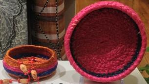 Tjanpi Baskets at Tali Gallery