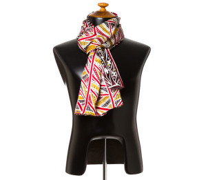 Mother and Son Silk Scarf at Tali Gallery Rozelle