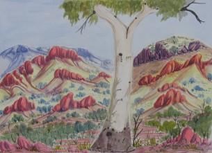 Lenie Namatjira - Watercolour