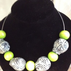 Handpainted Gumnut Creations by Cleonie Quayle and her daughter, Jade