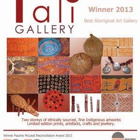 Best Aboriginal Art Gallery 2013