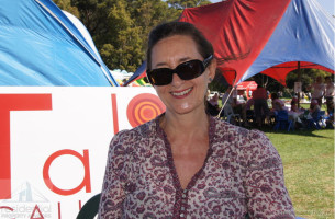 Judy at the Balmain Rozelle Family Fun Day 2011