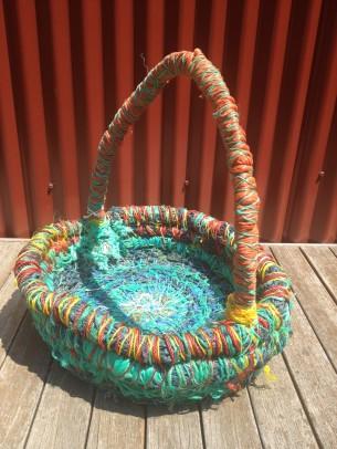 Ghostnet Basket