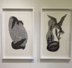 TSI Prints Framed on the Wall at Tali Gallery