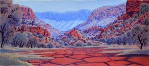 Watercolourists from the Desert