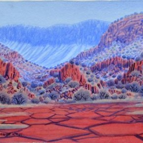 Exhibition of Aboriginal Watercolours by the Third and Fourth Generation after Albert Namatjira