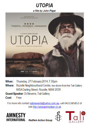 Second Utopia Screening