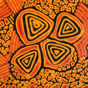 Aboriginal Art - 30x30s ready to hang on the wall
