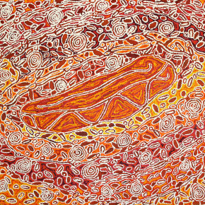Vibrant Aboriginal Art - Paintings from the Desert