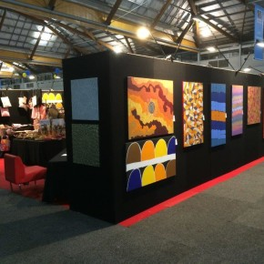 Tali Gallery Indigenous Art, Craft and Gift Exhibit at the 2014 Rotary International Conference in Sydney