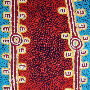 Warlpiri Drawings at the National Museum of Australia, Warlpiri Art available at Tali Gallery