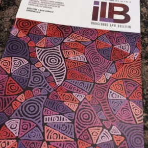 Sourcing Art for the Indigenous Law Bulletin