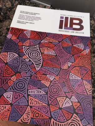 ILB Cover Pauline Napangardi Gallagher