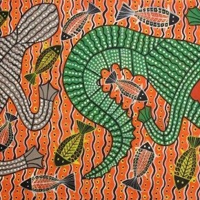 Collectible Aboriginal Art - Robert Campbell Jnr