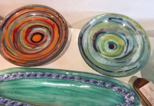 Aboriginal Glass at Tali Gallery