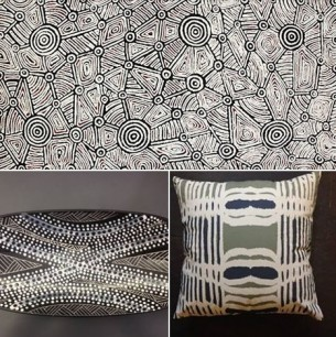Black and White Art and Crafts from Remote Aboriginal Communities  Tali Gallery
