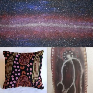 Combining Desert and Tiwi Art at Tali Gallery Sydney