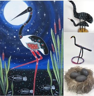Jabiru at Tali Gallery Aboriginal Art