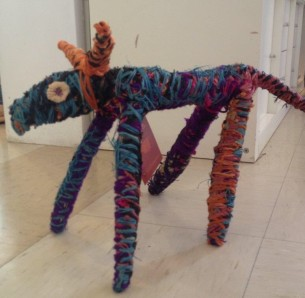 Tjanpi Dog at Tali Gallery