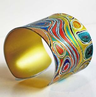 Aboriginal Design Cuff at Tali Gallery