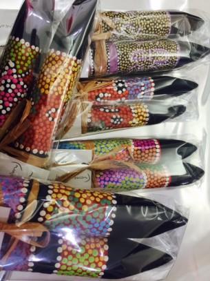 Clapsticks at Tali Gallery