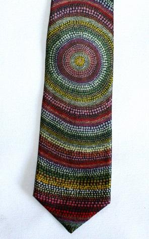 Desert Wildflowers Tie at Tali Gallery