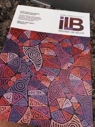 ILB Cover Pauline Napangardi Gallagher sourced from Tali Gallery