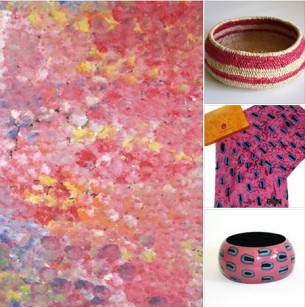 Wearing and living with Aboriginal Art - Fair Trade Art Gifts at Tali Gallery