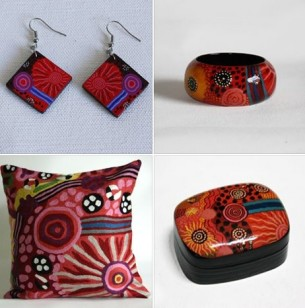 Wearing and living with Fair Trade Art Gifts at Tali Gallery