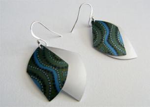 Wind Earrings at Tali Aboriginal Gallery