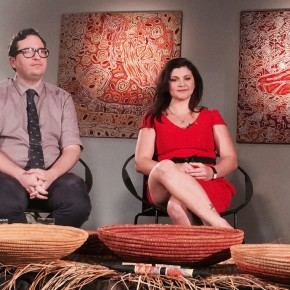 Tali Gallery's set design for National Indigenous Television