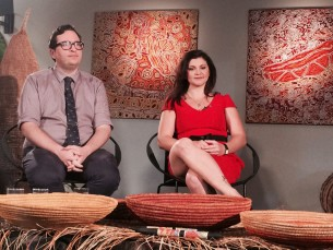 Tali Gallery set design for Awaken on NITV