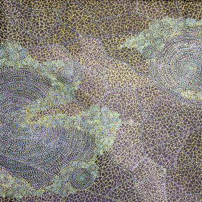 Sarrita King at Tali Aboriginal Art Gallery