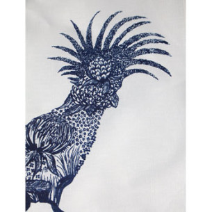 cockatoo tea towel