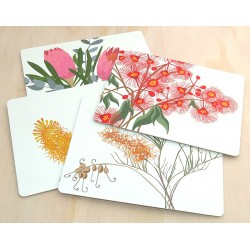 Bloom placemats at Tali Gallery