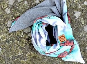 Copper Nest Woollen Scarf at Tali Gallery