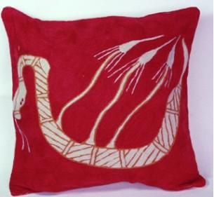 Cushion Cover at Tali Aboriginal Art Gallery Yawk Yawk