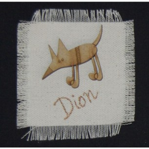 Dion Cheeky Dogs Badge at Tali Gallery