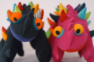 Thorny Mountain Devil Lizards at Tali Gallery - Copy