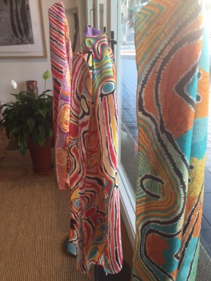 New Silk Scarves at Tali Gallery Shop