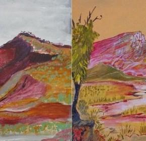 Solo Exhibition at Tali Gallery - Aboriginal Artist, Reinhold Inkamala